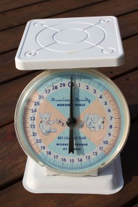 Nursery Scale and Toy Telephone Love