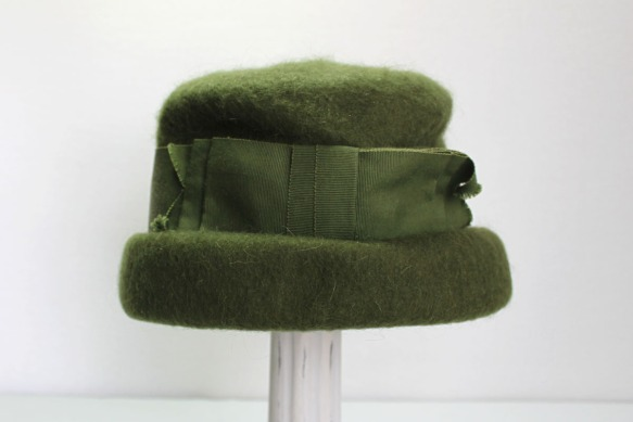 Green Wool Hat a