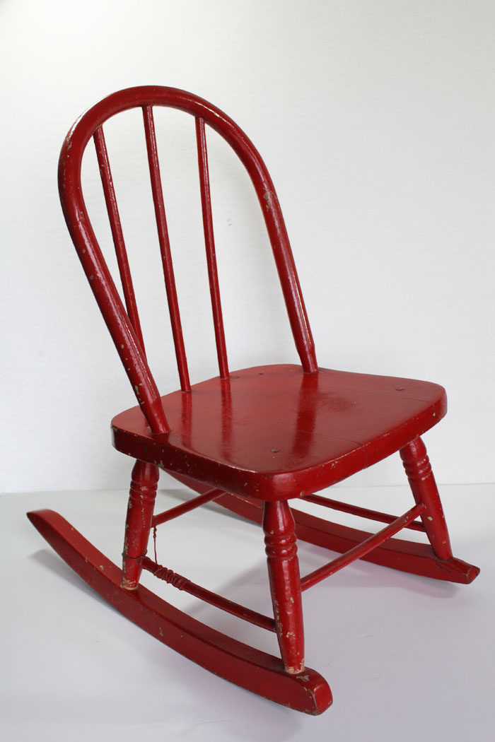 Red Rocking Chair is Featured