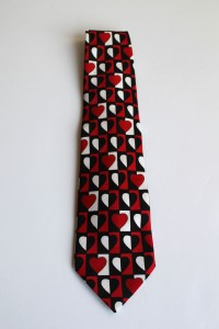 Geometric Heart Neck Tie a