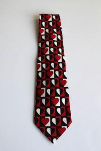 Geometric Heart Neck Tie a