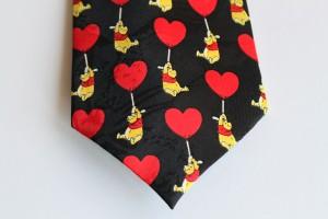 Heart Pooh Neck Tie b
