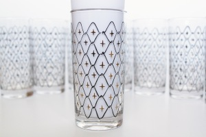 High Ball Glasses Stars c