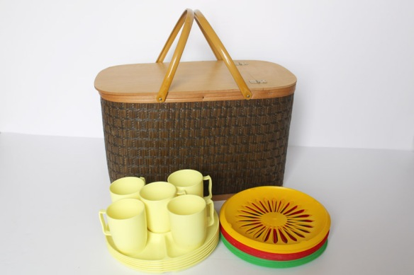 Picnic Baskets and Magazine Racks
