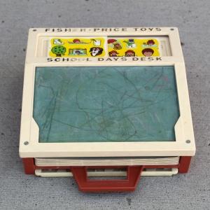 Fisher Price School Days Desk Set