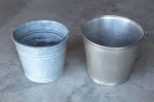 Old Galvanized Buckets