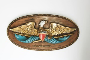 Pepsi Eagle Plaque a