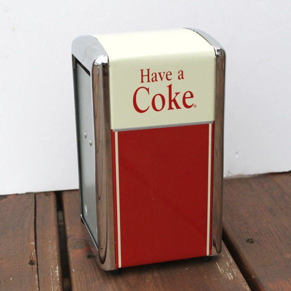 Coke Napkin Dispenser a