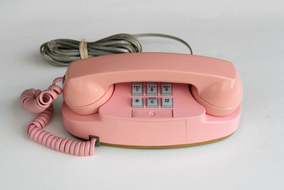 Pink Princess Phone a