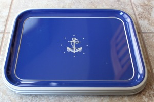 Blue Anchor Trays