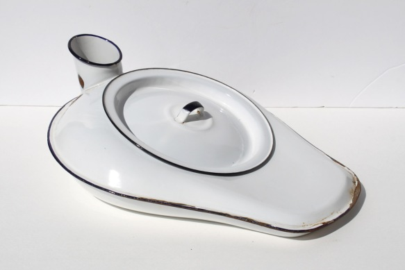 Enamel Bed Pan a