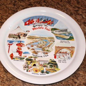 Worlds Fair 1974 Tray