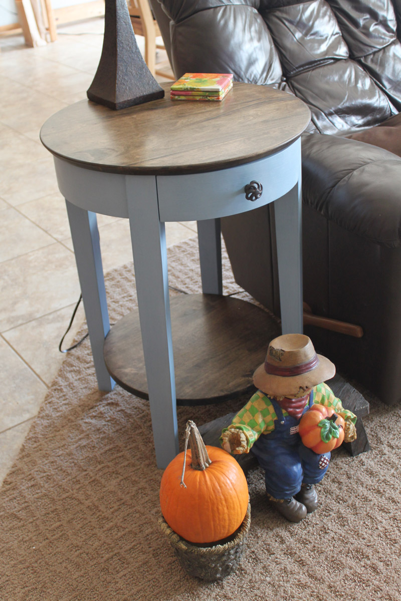 Side Table Finished