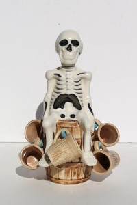 Skeleton Decanter