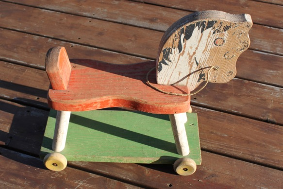 Wood Riding Horse Toy b