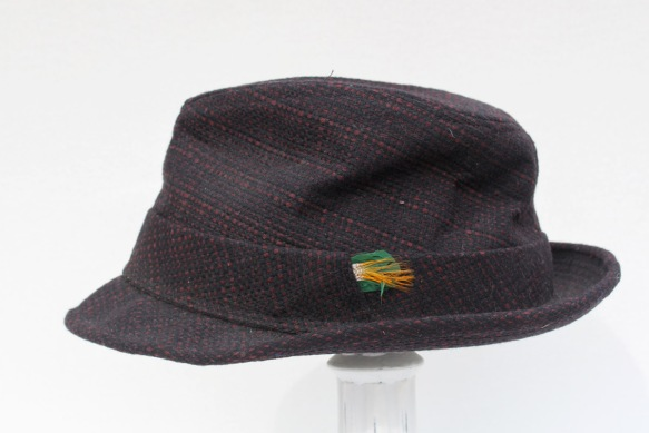 Mens Black Fedora