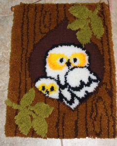 Owl Latch Hook