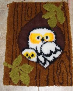 Owl Latch Hook
