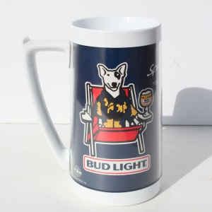 Spuds Mackenzie Bud Light Beer Mug a