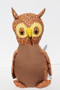 Stuffed Handmade Owl a