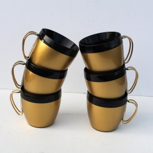 Thermo Serve Gold Cups b