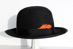 Black Bolo Hat