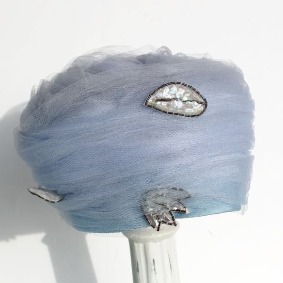 Netting Hat Blue b