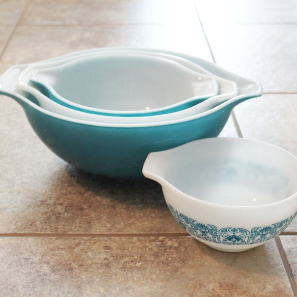 Pyrex Cinderella Bowls Horizons