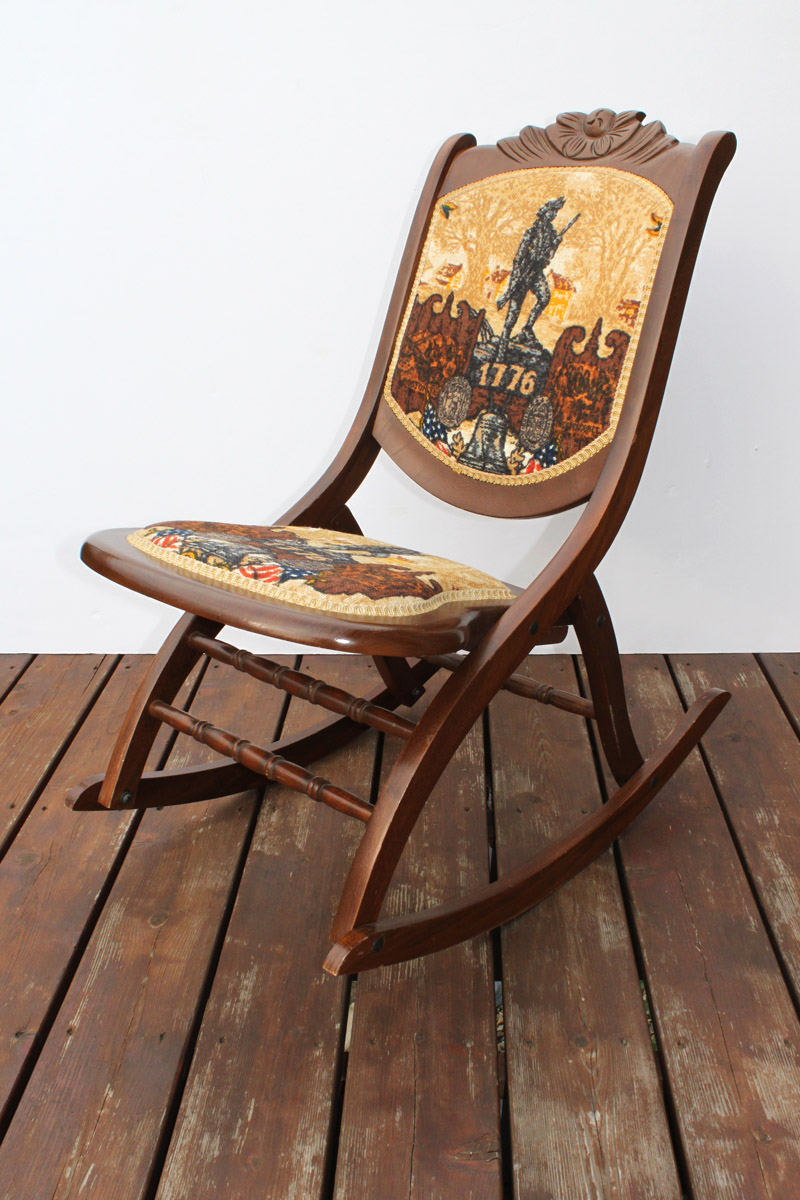 Bicentennial Rocking Chair on for my wooden rocking chair cushions