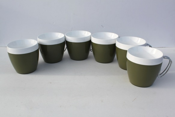 Green Thermo Cups a