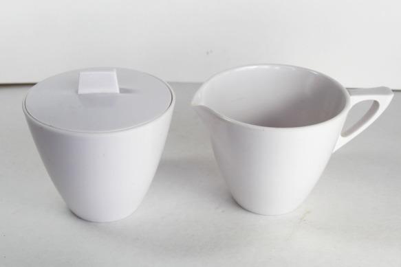 Melmac Sugar Bowl Creamer a