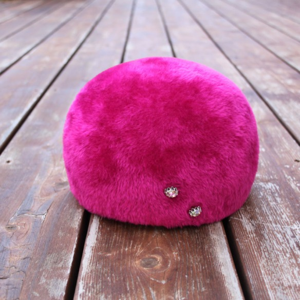 Bright Pink Hat a