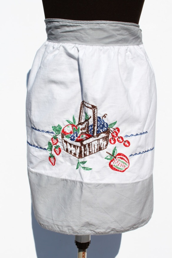 Gray Apron Basket a