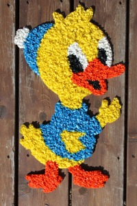 Macaroni Duck Wall Hanging a