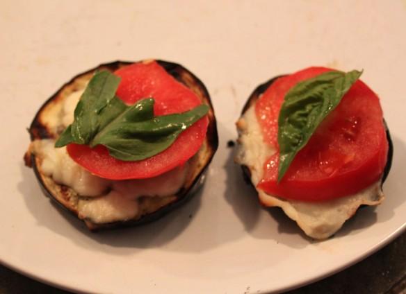 Italian Style Grilled Eggplant