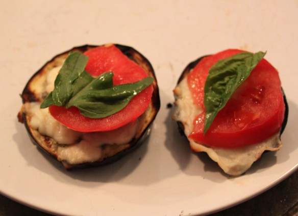 Italian Style Grilled Eggplant