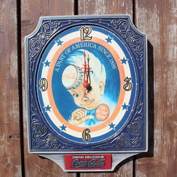 Coca Cola Clock a